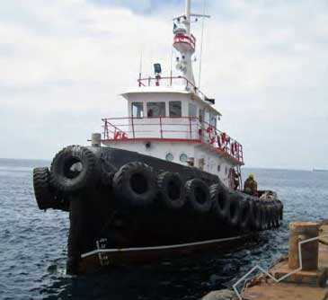 855 hp Single Screw Inland Tug