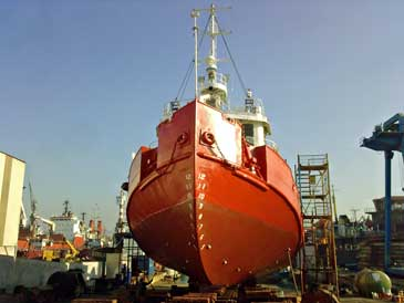 1,200 hp Twin Screw Salvage, Cable Laying and General Purpose Tug